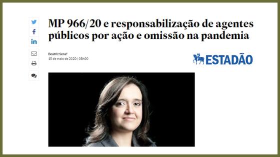 MP 966/20 e responsabilização de agentes públicos por ação e omissão na pandemia