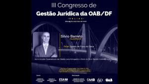 Silvio Barreto – III Congresso de Gestão Jurídica – Fluxo de Caixa