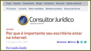 Internet e a advocacia
